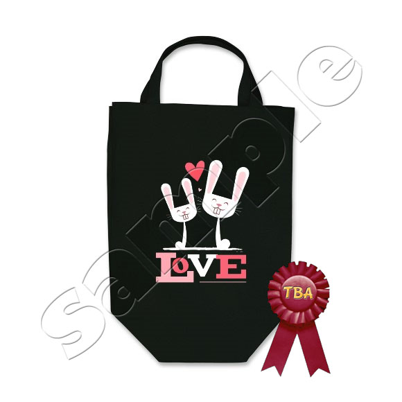 TBA Winner - Bunnies in Love Tote Bag