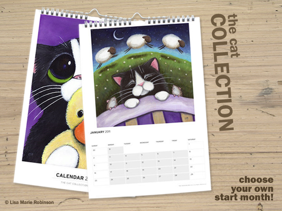 The Cat Collection Calendar - Buy it now!