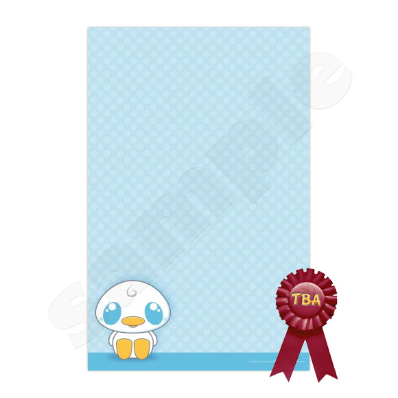 TBA Winner Kawaii Duck Stationery