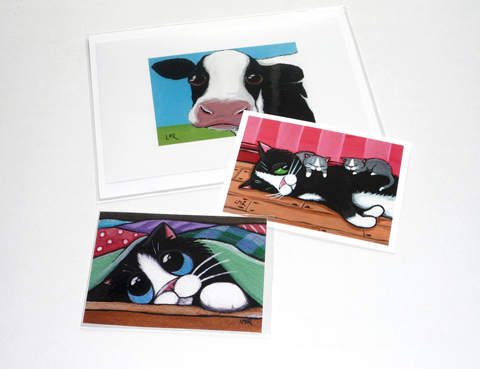 Example of ACEO prints