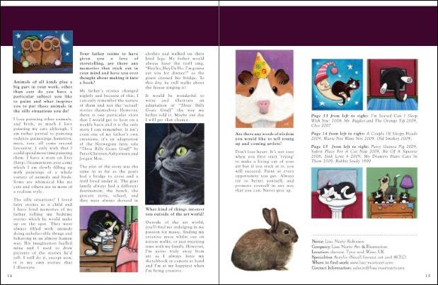 Indie Arts Magazine Issue 1 Inside Spread