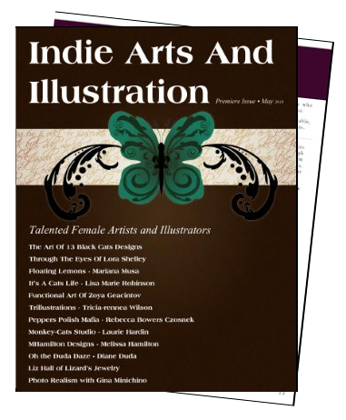Indie Arts and Illustration Issue 1 Cover