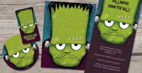 Grumpy Frankenstein Products © Lisa Marie Robinson