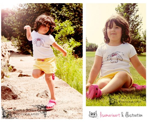 Bawling Bunny Tshirt - Photos Courtesy of Paolo Jofrey Photography