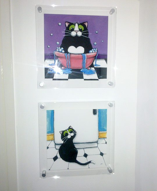 Fat Takes a Bath & Subtle Hint Prints