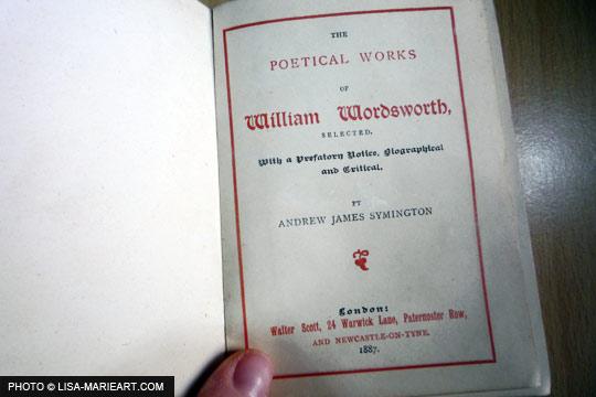 Canterbury Poets Wordsworth 1887