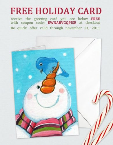 Free Holiday Greeting Card Offer