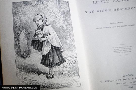Little Hazel Kings Messenger Front illustration
