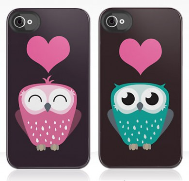 Owl Love You Forever iPhone Cases by Lisa Marie Robinson