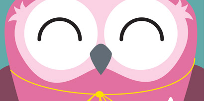 Today's Best - Pink Party Owl