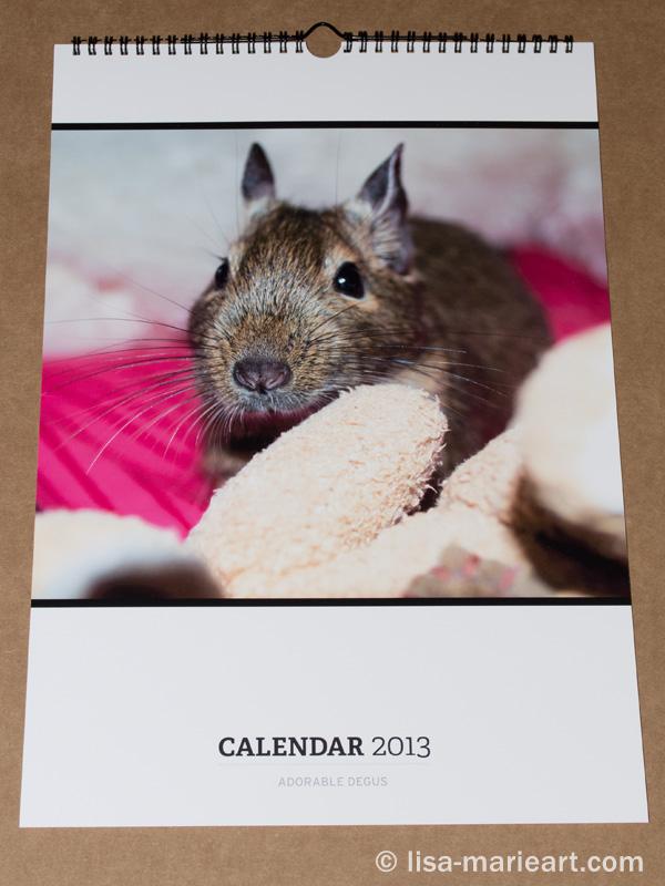 Redbubble Calendar Front