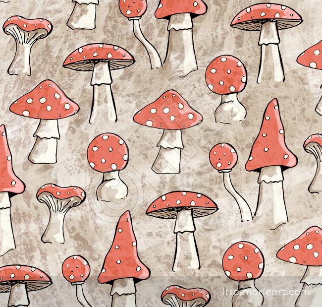 Spotty Fungi Pattern