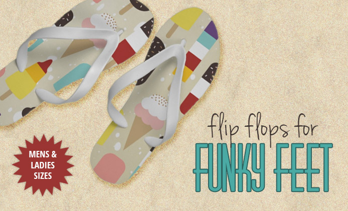 Flip Flops for Funky Feet