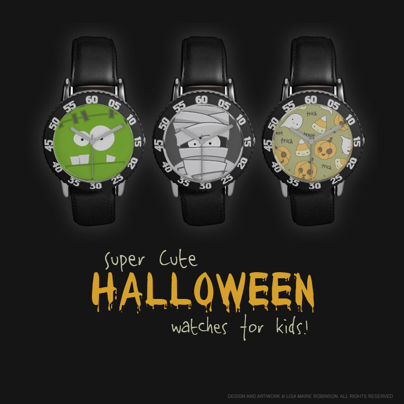 Super Cute Halloween Watches for Kids