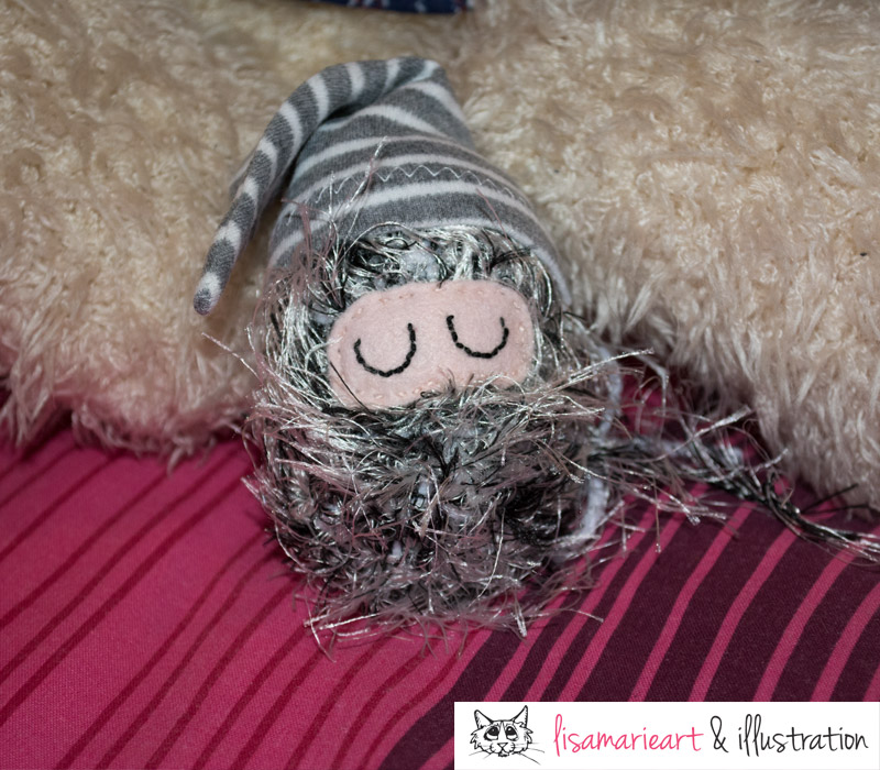 Sleepy Crocheted Critter