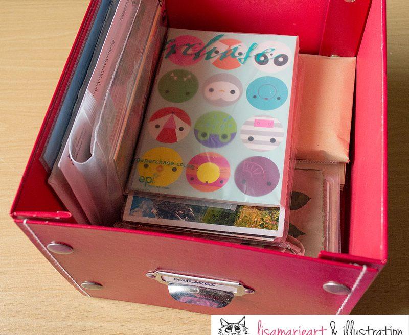 My Box of Postcards