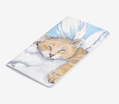 Angel Cat Pocket Journal