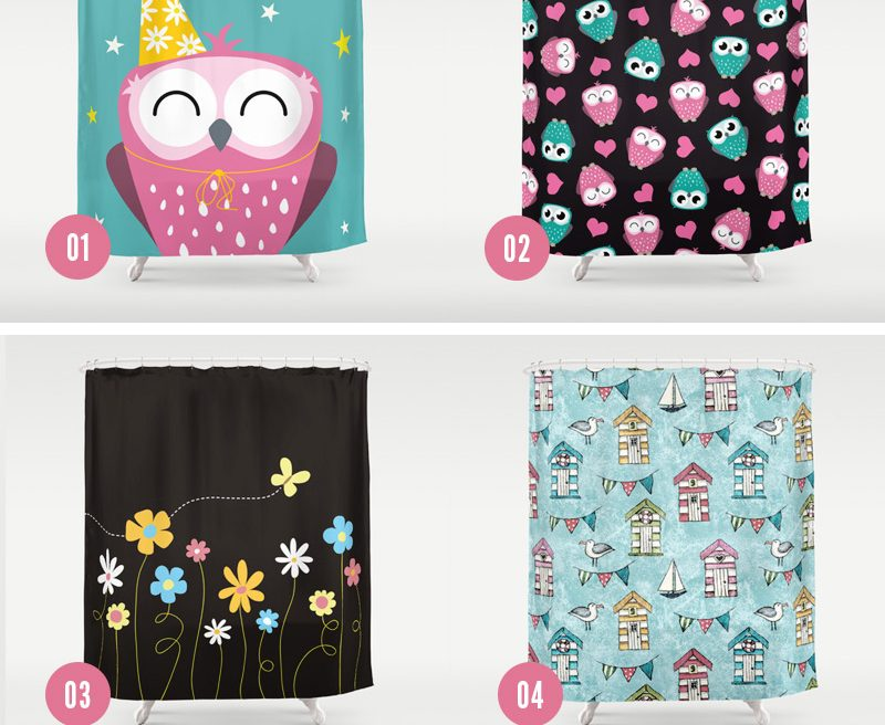 Shower Curtains by Lisa Marie Robinson