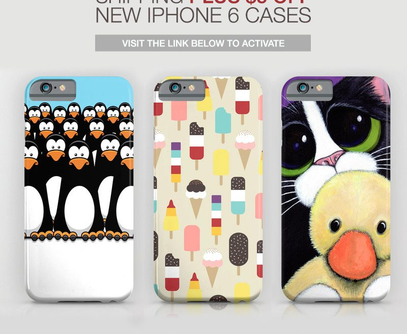 $5 OFF iPhone 6 Cases at Society 6