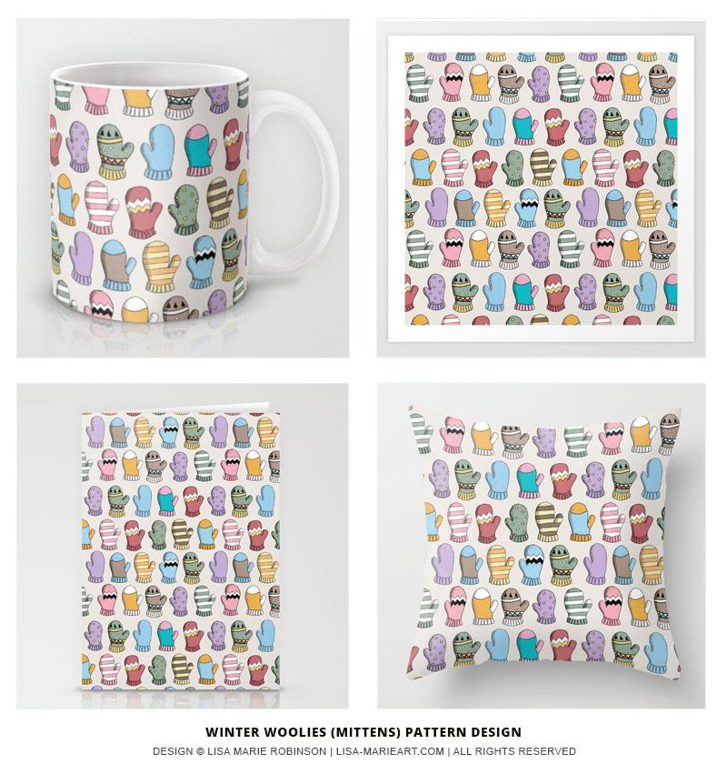 Winter Woolies Pattern Design