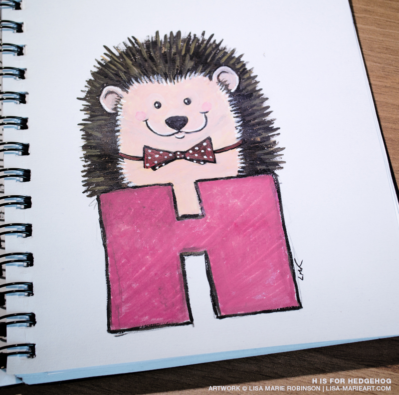 The Letter H is for Hedgehog