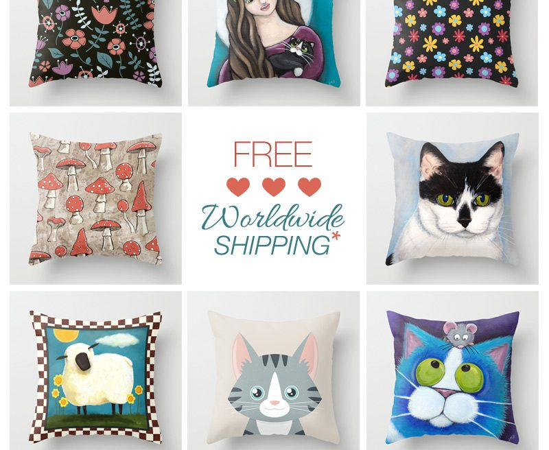 Free Shipping Society6 Feb 2015