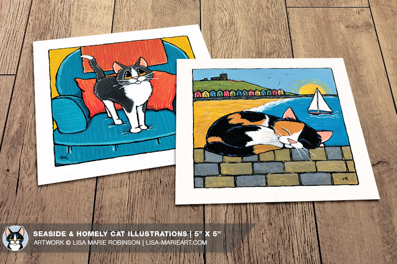 whitby-galleries-april-2015_seaside-homely-cat-illustrations