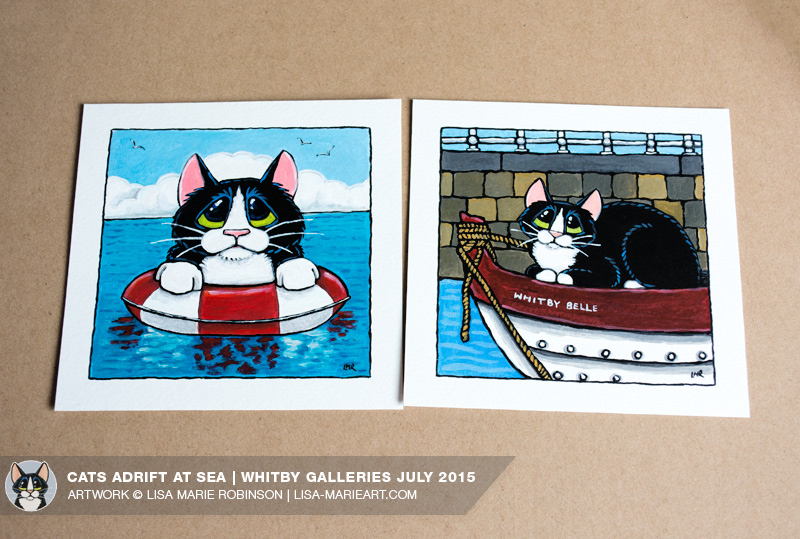 whitby-galleries-july-2015_cats-adrift-illustrations