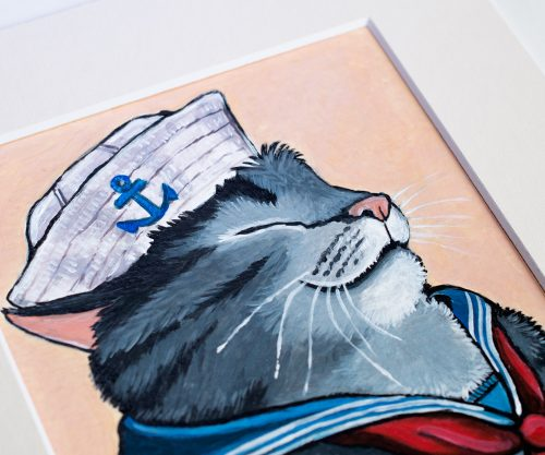 Sailor Cat by Lisa Marie Robinson