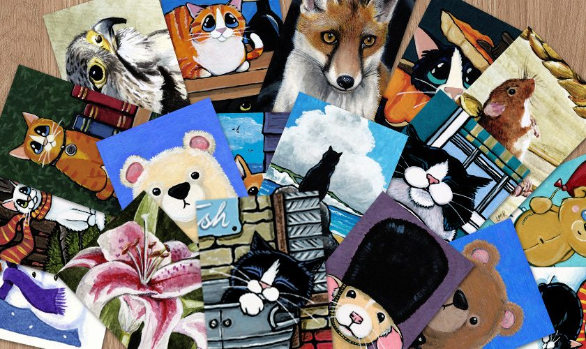What are ACEO art Cards?