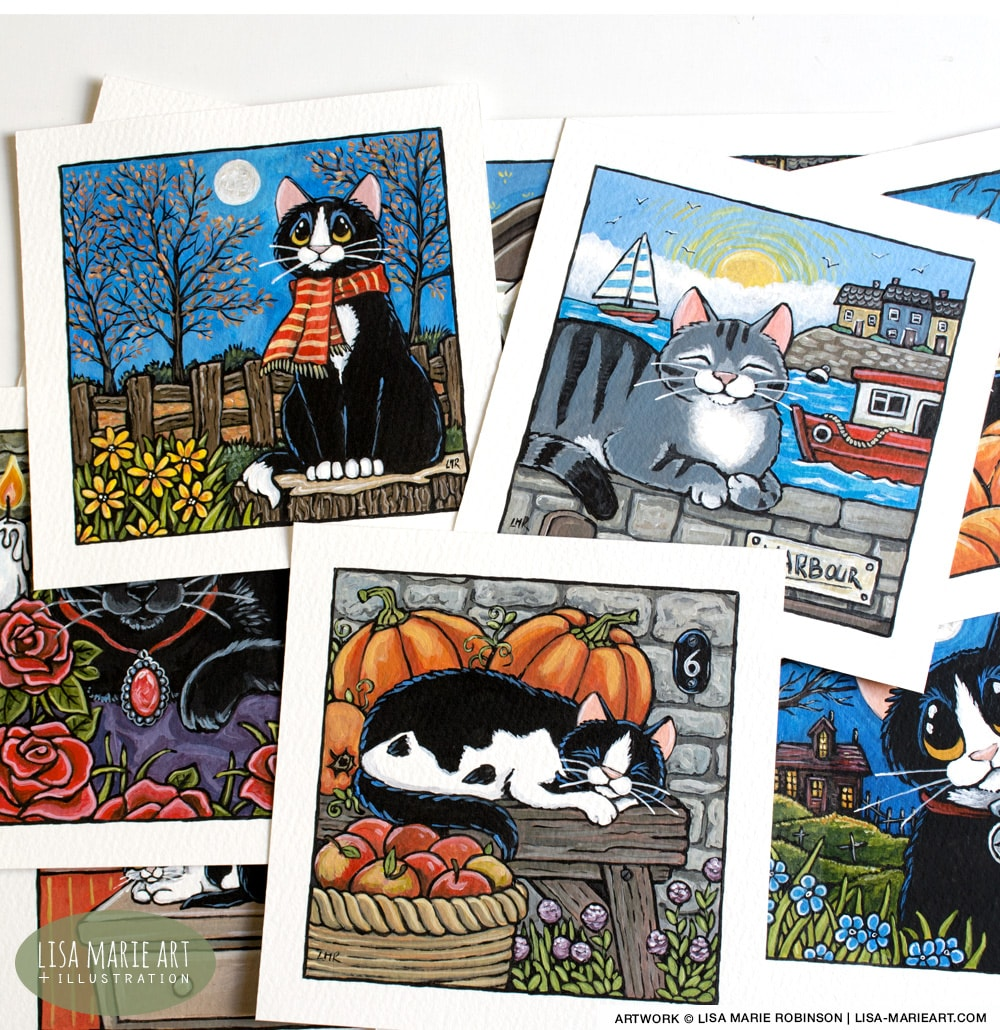 Autumn Cats & Harbour Cats