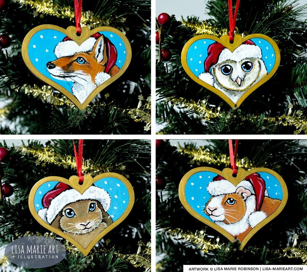 PEt & Wildlife Christmas Decorations