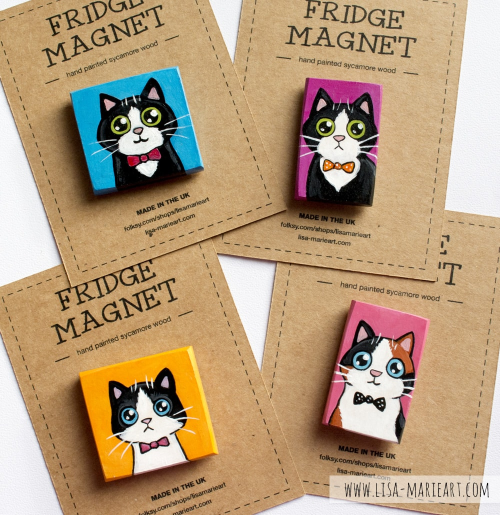 Cute Cat Magnets
