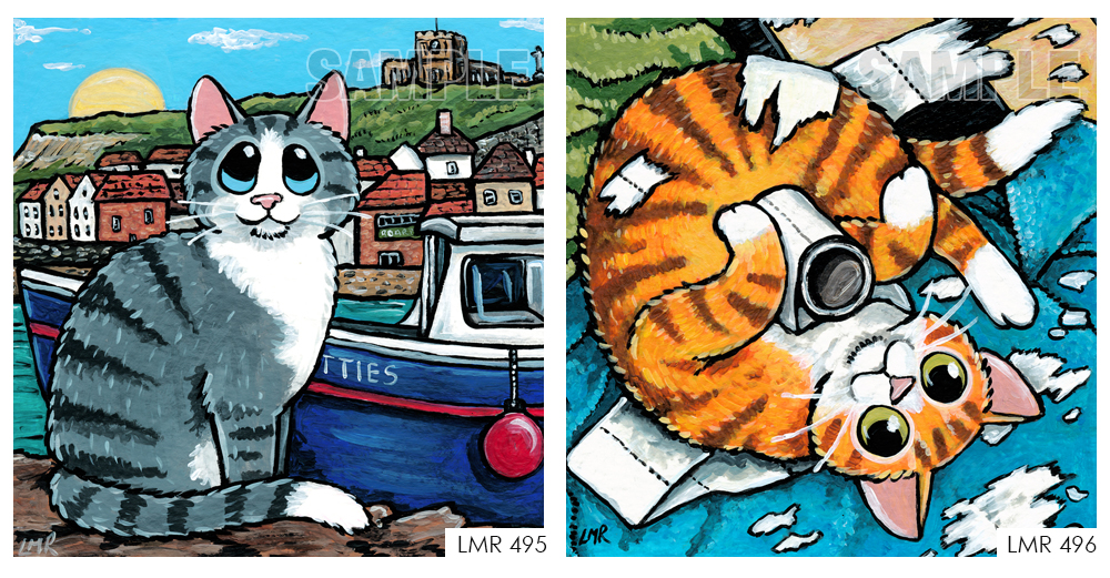 New Cat Art at Whitby Galleries
