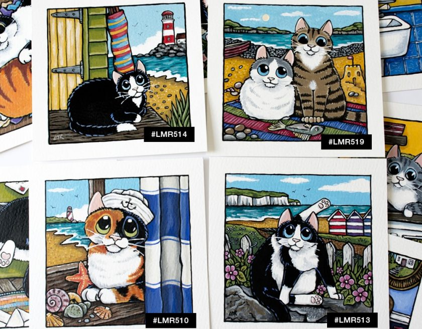 Cute Cat Art at Whitby Galleries