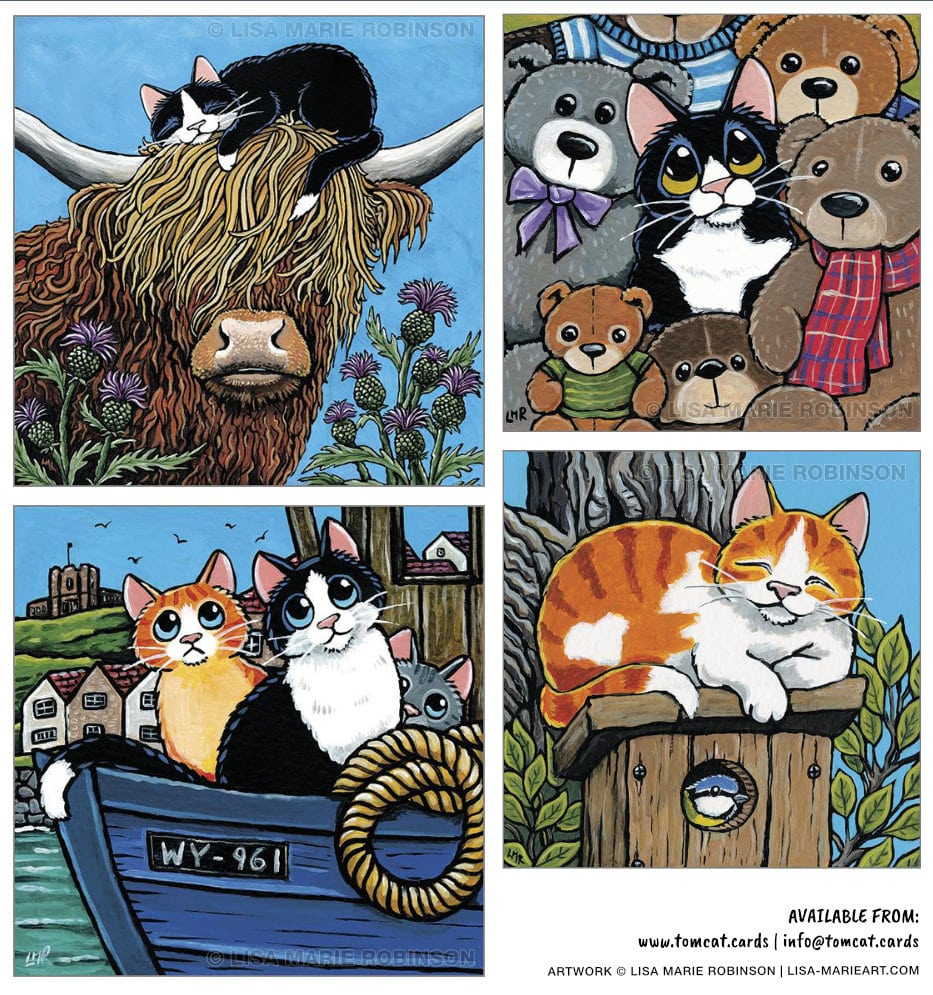 Cat Greeting Card Collection